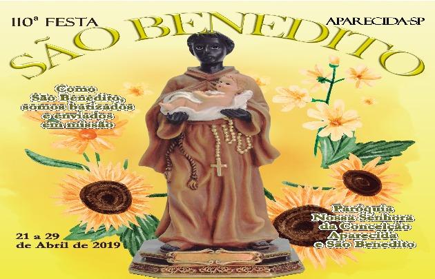 Aparecida celebra São Benedito