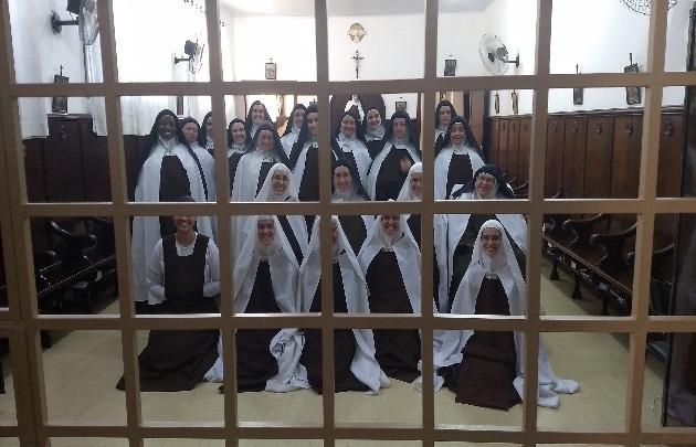 Carmelitas rezam pelo clero da Arquidioce