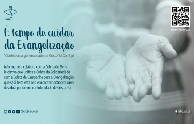 Tempo de cuidar da Evangelização
