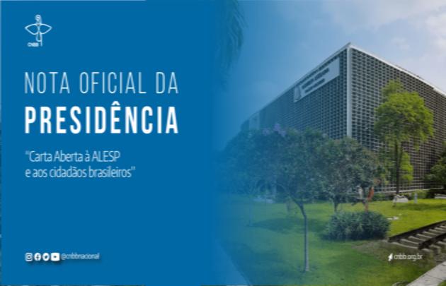 NOTA OFICIAL DA PRESIDENCIA DA CNBB