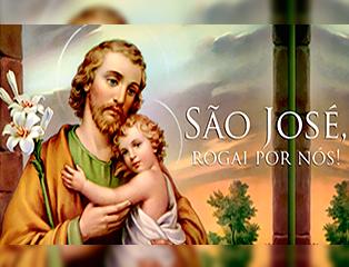 São José, esposo de Maria, primeiro leigo da igreja!