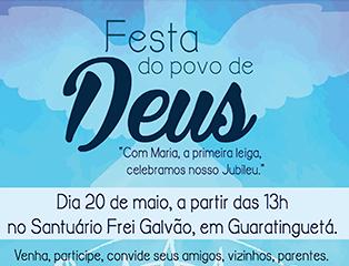 Arquidiocese de Aparecida promove a Festa do Povo de Deus