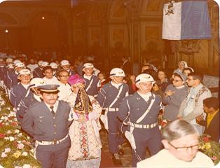 Aparecida comemora 40 anos do restauro da imagem da Padroeira