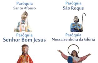 Paróquias da Arquidiocese celebram padroeiro em agosto