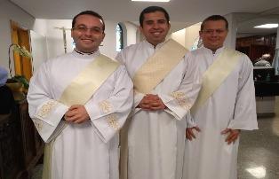 Arquidiocese ganha 3 novos padres