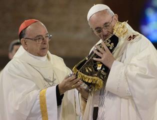 Papa Francisco não virá à Aparecida em 2017