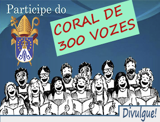 Coral de 300 vozes cantará no encerramento das missões redentoristas