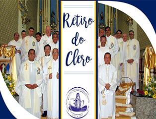 Clero Arquidiocesano participa de retiro anual